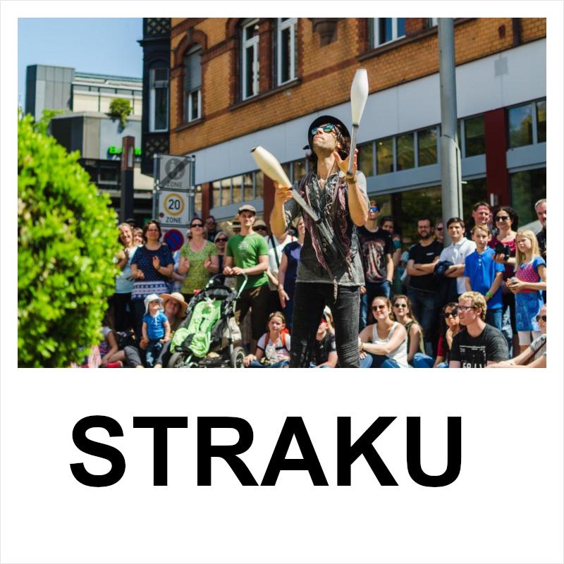 """Plakat """"STRAKU"""""""