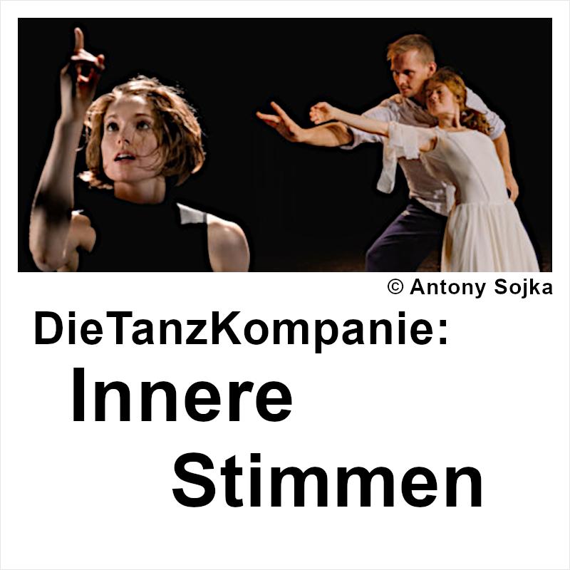 """Plakat: Die Tanz-Kompanie mit """"Innere Stimmen"""""""
