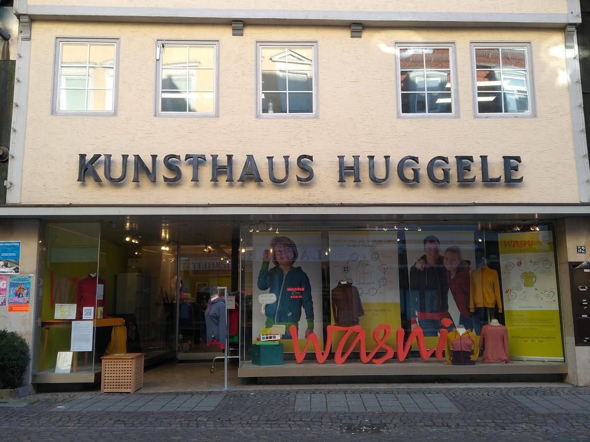 Eingang des Kleidungsgeschäfts wasni